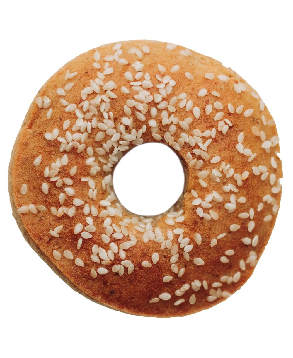 Nina's Sesame Paleo Bagels
