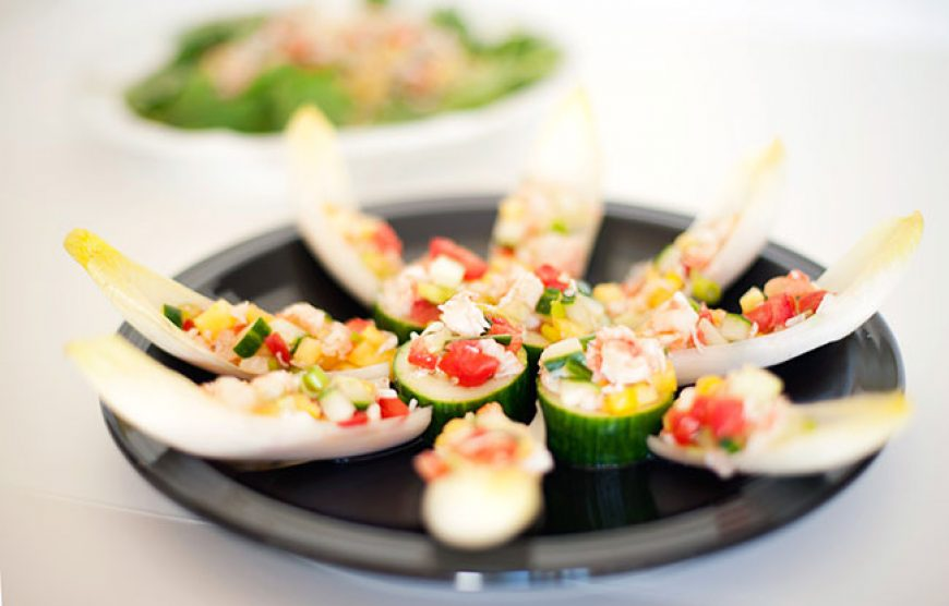 Crab Pineapple Canapé