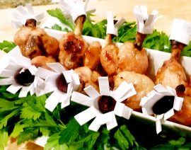 Citrus-Marinated Chicken Drumettes