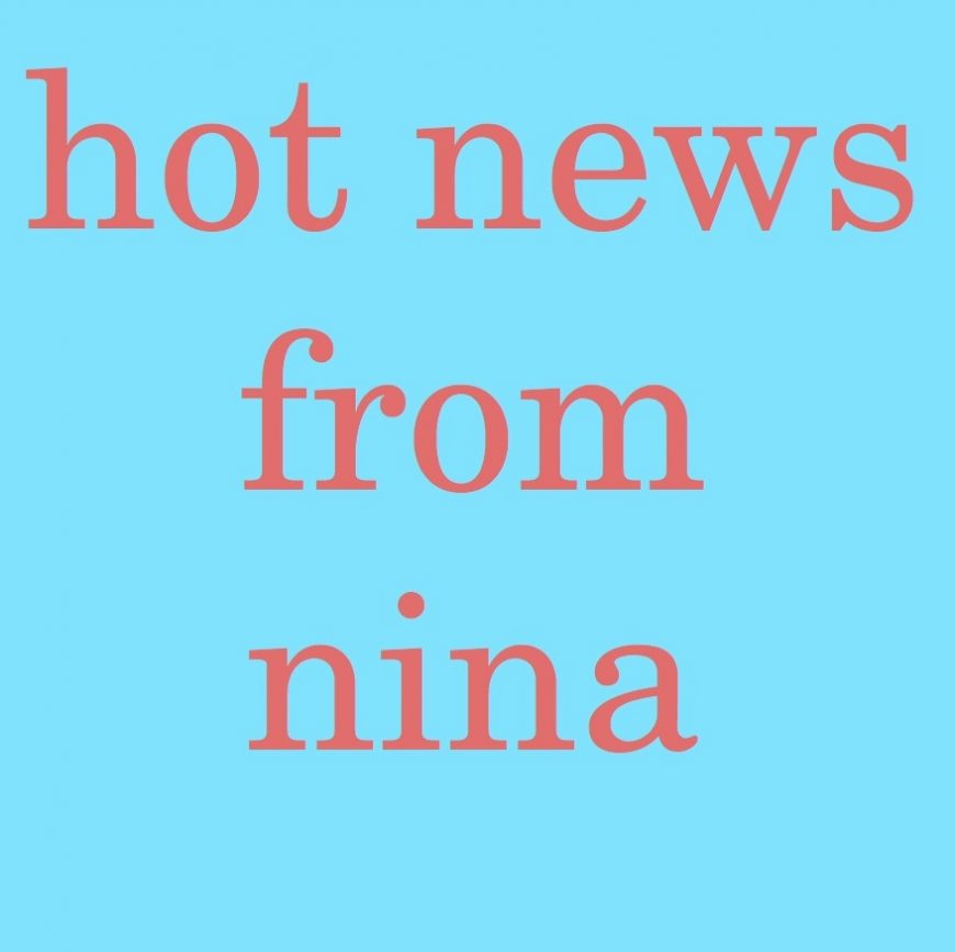 HOT News from Nina: Interview with Camie Cragg