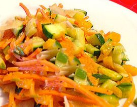 Indian-Style Tri-Color Stir Fry (Poriyal)
