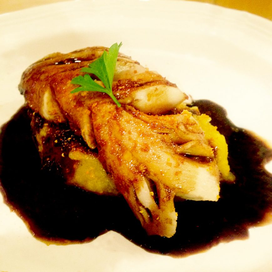 Maple Glazed Butterfish (Sablefish)