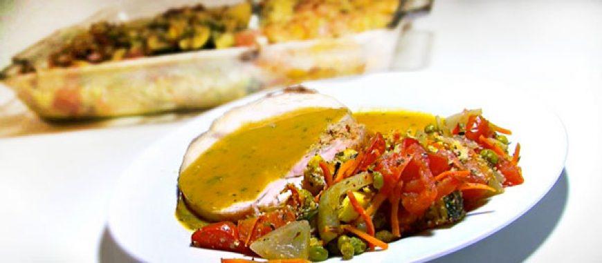 Provencal Vegetable Casserole