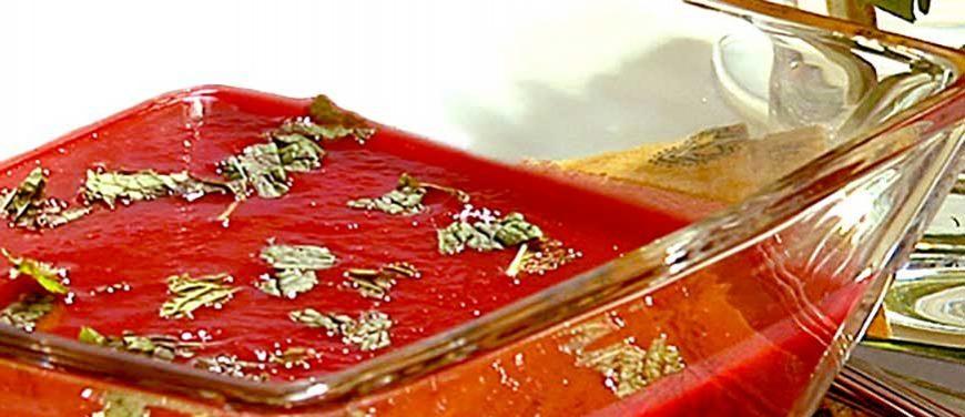 Cranberry Beet Bisque