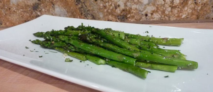 Garlic Sage Asparagus