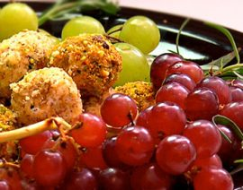 Goat Cheese – Grape Truffles