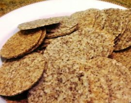 Sesame Crunch Crackers