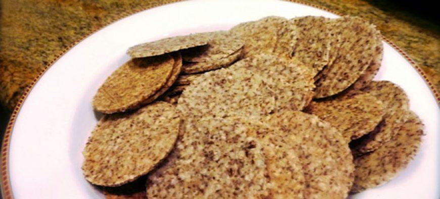 Sesame Crunch Crackers