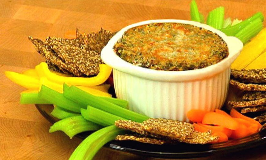 Smoked Salmon Spinach Dip
